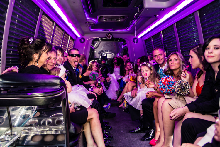 Rental Party Limo Bus
