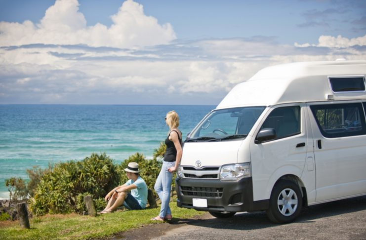 Tour with Campervan